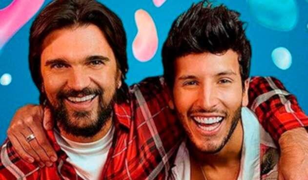 Juanes y Sebastián Yatra en el video de 'Bonita
