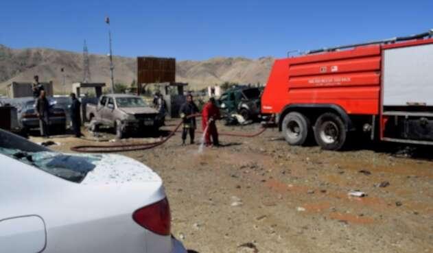 Doble atentado de Talibanes en Afganistán