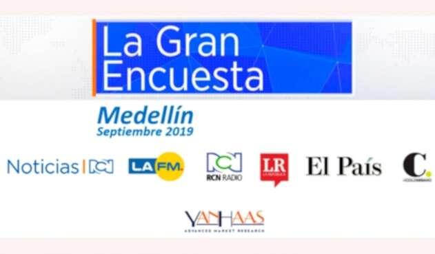 Resultados de La Gran Encuesta en Medellín
