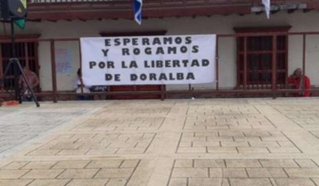 Mujer fue secuestrada en Ituango, Antioquia.