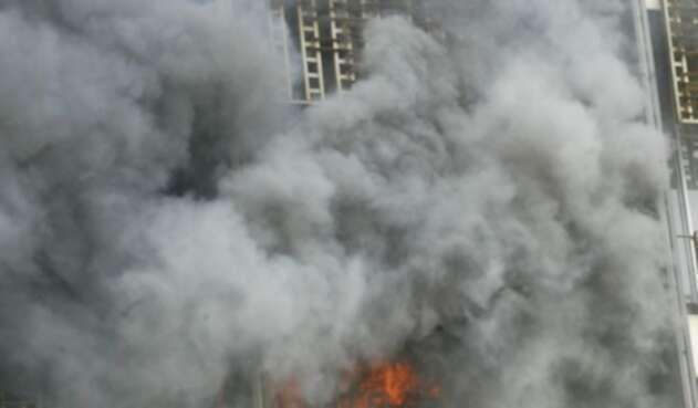 Incendio en escuela de Liberia