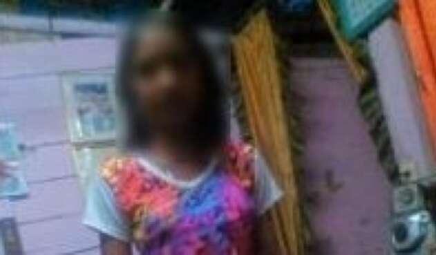 Manuela Estrada, niña que cayó a un abismo en Barbosa, Antioquia