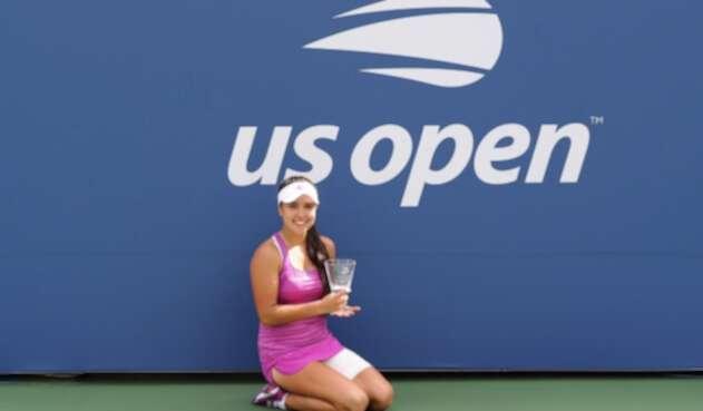 María Camila Osorio, campeona del Us Open juvenil