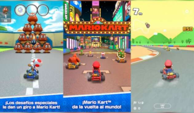Mario Kart Tour para móviles
