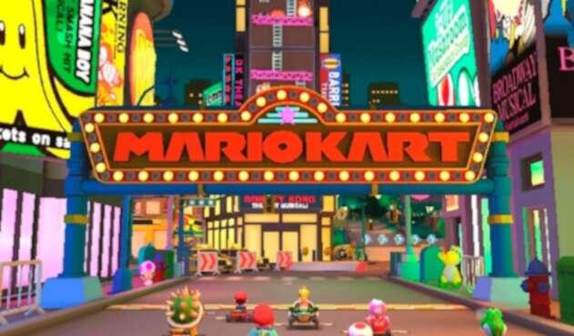 Mario Kart Tour es la nueva entrega del popular juego