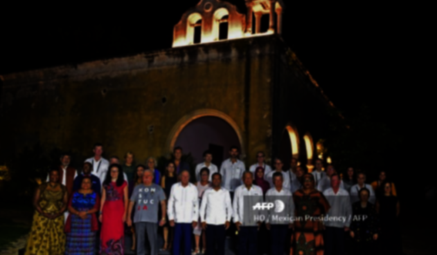 Cumbre de premios Nobel de Paz 2019 en Mérida