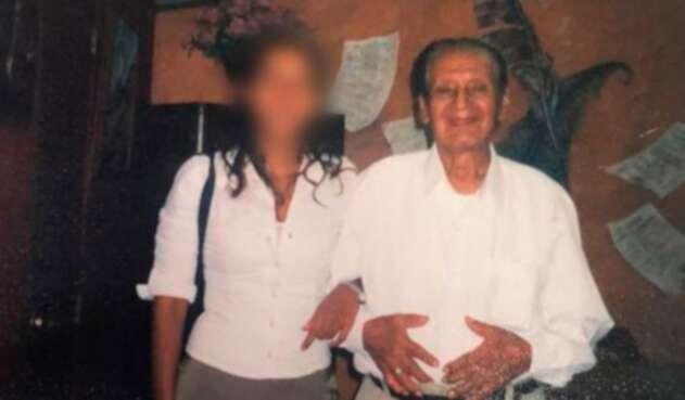 Merlín Jeimy Muñoz y su esposo fallecido