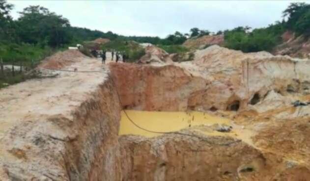 Se incrementa la minería ilegal en  Córdoba.