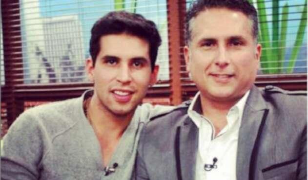 Brian Moreno y su padre Marlon Moreno