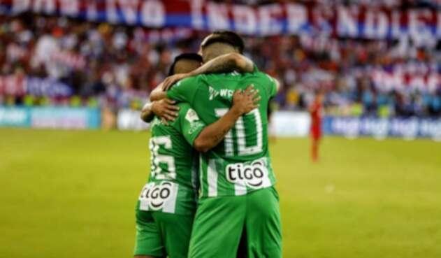 Nacional goleó a Medellín