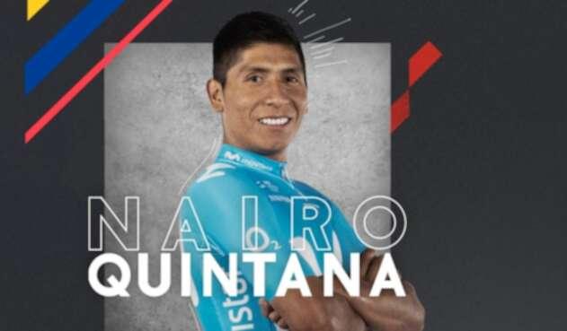 Nairo Quintana, ciclista colombiano al servicio de Arkea Samsic