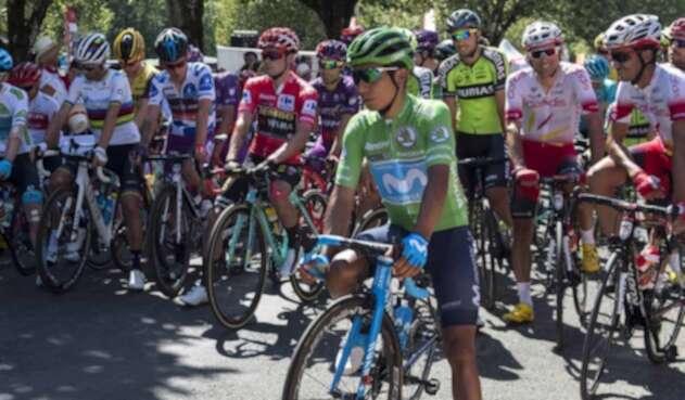 Nairo Quintana en la Vuelta a España 2019