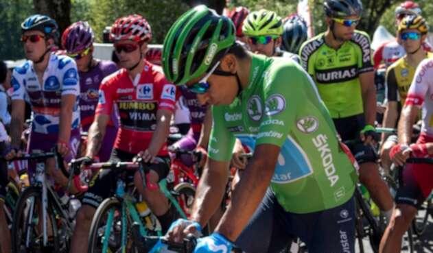 Nairo Quintana, ciclista colombiano al servicio de Movistar Team