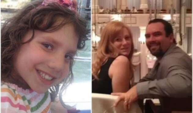 Natalia y su familia adoptiva