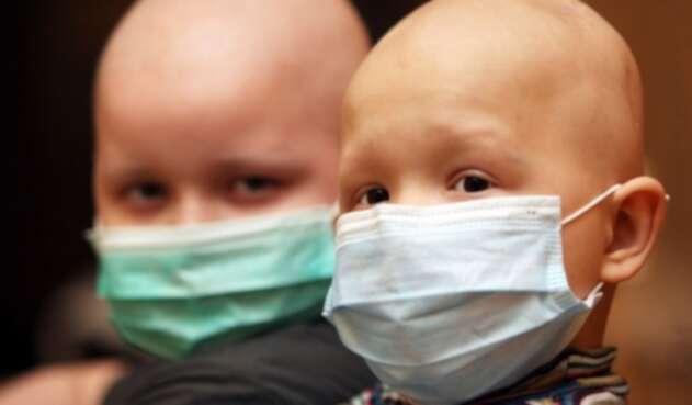 Niños con cáncer.