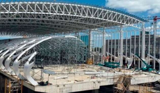 Obras en el aeropuerto internacional de Ezeiza