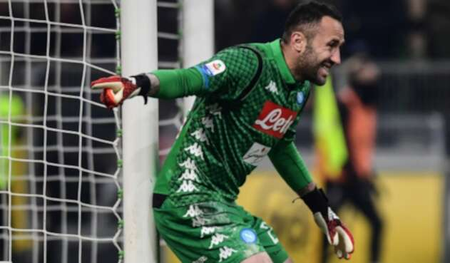 David Ospina regresó al arco de Napoli