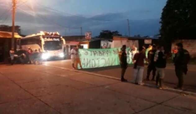 Paro de transportadores en Tolima