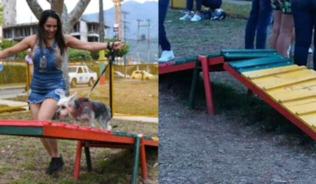 Parque público para mascotas, en Ibagué.