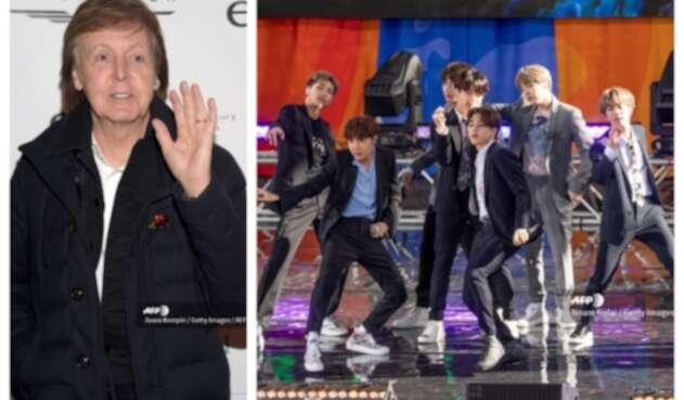 Paul McCartney y BTS