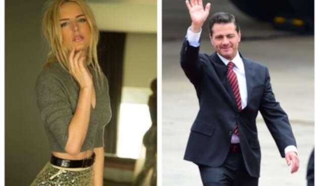 Enrique Peña Nieto y Tania Ruíz