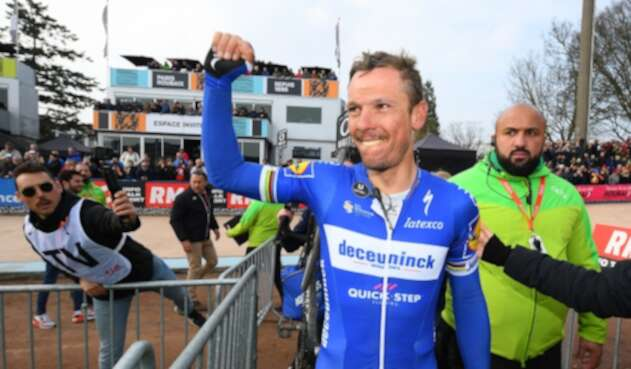 Philippe Gilbert, ciclista belga al servicio del Deceuninck-Quick Step