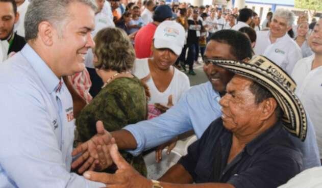 El presidente Iván Duque lideró taller Construyendo País en Montería