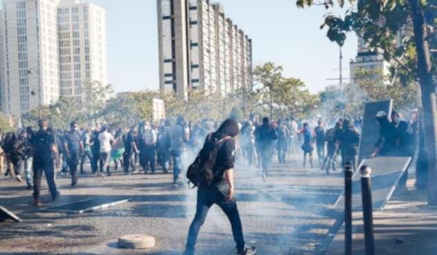Protestas en Paris