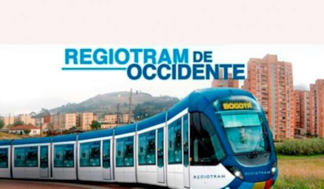 Imagen del Regiotram de Occidente