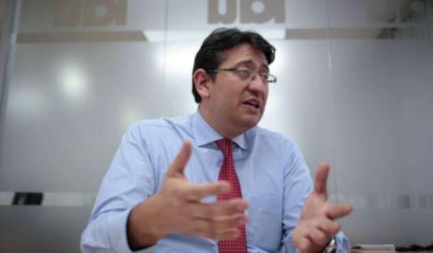 Ricardo Cárdenas, gerente técnico de los diseños primera línea del metro de Bogotá entre 2012 y 2015 2015