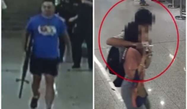 Secuestro en China