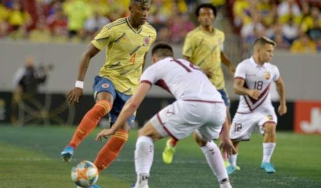 Selección Colombia vs Venezuela