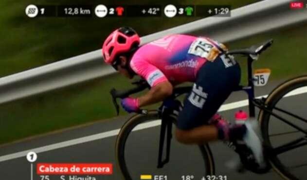 Sergio Higuita, ciclista colombiano al servicio de EF Education First