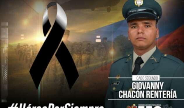 Suboficial asesinado en Valdivia, Antioquia