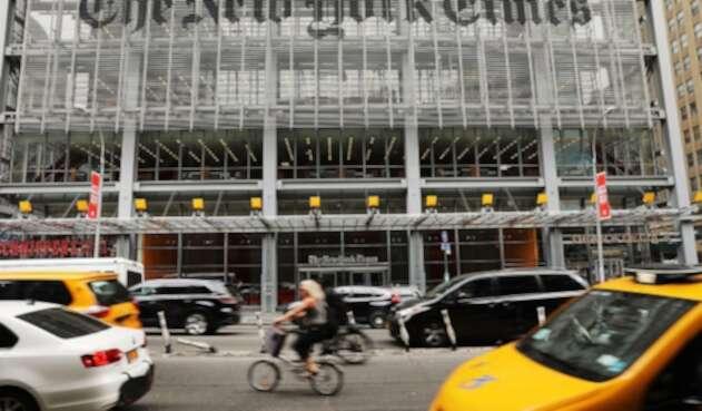 La sede del diario The New York Times, en Nueva York (Estados Unidos)