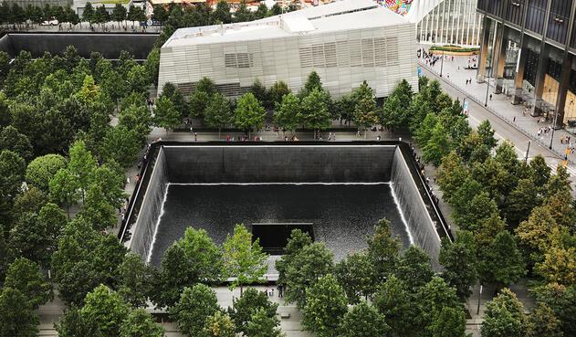 El museo en Nueva York en memoria a las víctimas de los ataques del 11 de septiembre de 2001
