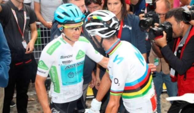 Miguel Ángel López, Alejandro Valverde