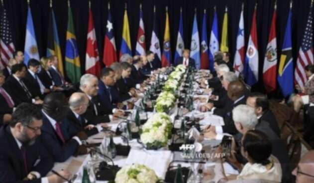 Reunión sobre crisis de Venezuela en la ONU