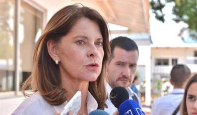 Vicepresidente de Colombia Marta Lucía Ramírez.