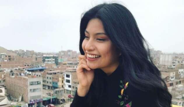 Wendy Sulca, cantante peruana