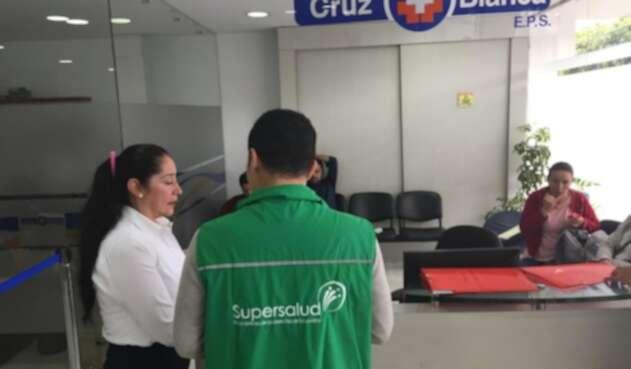 Supersalud toma posesión de la EPS Cruz Blanca.