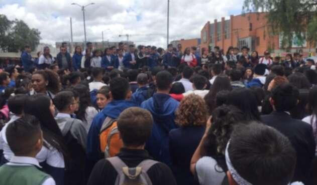Pico y Placa en colegio de Bogotá