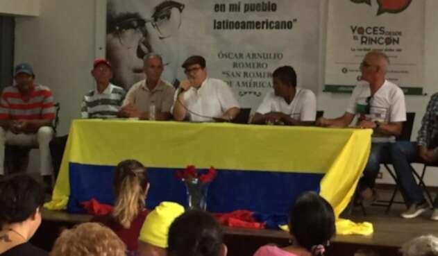 El líder de las Farc está en Barranquilla reafirmando el mensaje de la Paz.