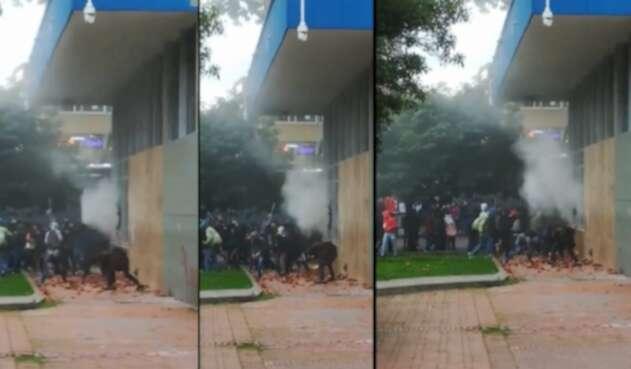 Disturbios en el Icetex