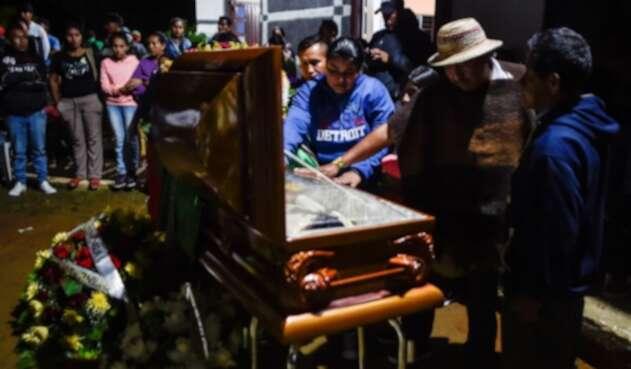 Asesinato de indígenas en Colombia