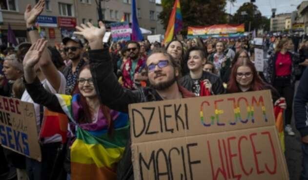 Marcha del Orgullo en Polonia