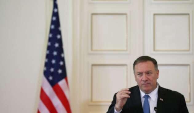 Secretario de Estado norteamericano, Mike Pompeo