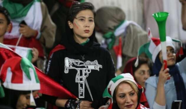 Mujeres iraníes fútbol
