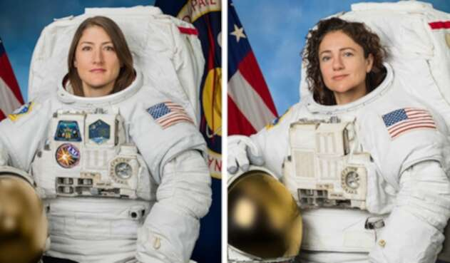Jessica Meir y Christina Koch