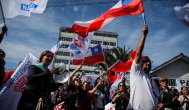 Chile Valparaiso protestas